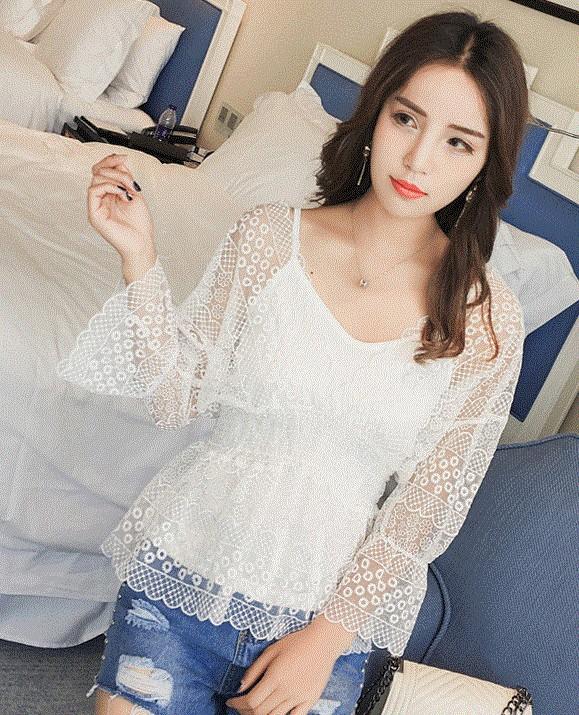 GSS87040 Blouse khaki,white $21.08 50XXXX7065127-SD4LV449-B