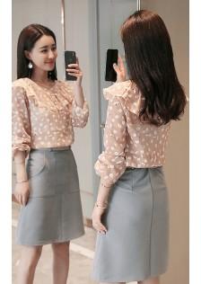 GSS5105X Top+Skirt *