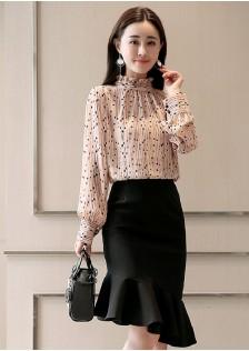 GSS5101X Top+Skirt *