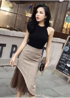 GSS9193X Top+Skirt .***
