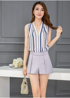GSS1066X Top+Shorts *