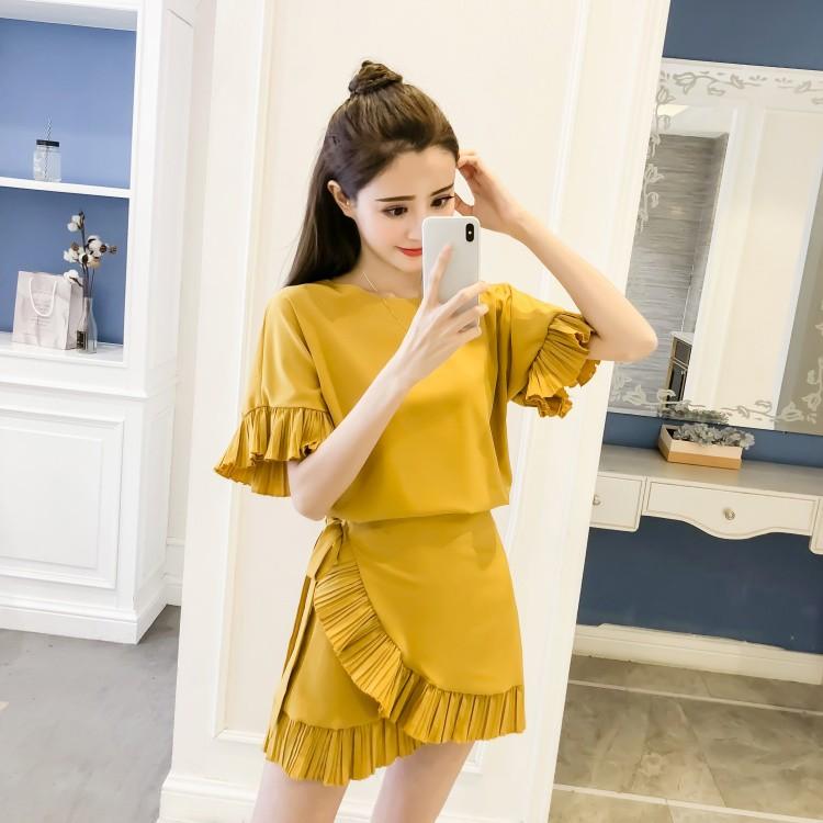 GSS711 Top+Skirt yellow,orange $16.46 45XXXX7744888-SD3LV319-C