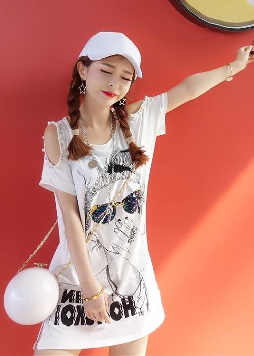 GSS4227 Dress white,black $13.13 30XXXX7720591-OH1LV110-C