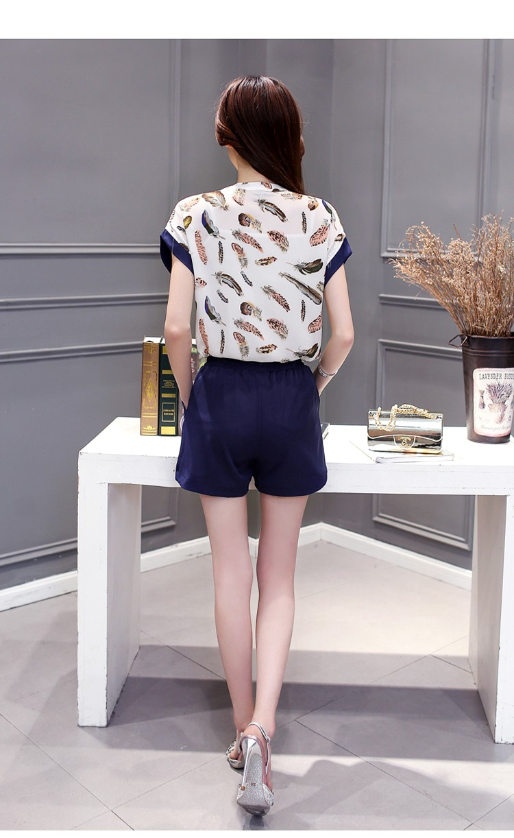 GSS9707X Top+Shorts*