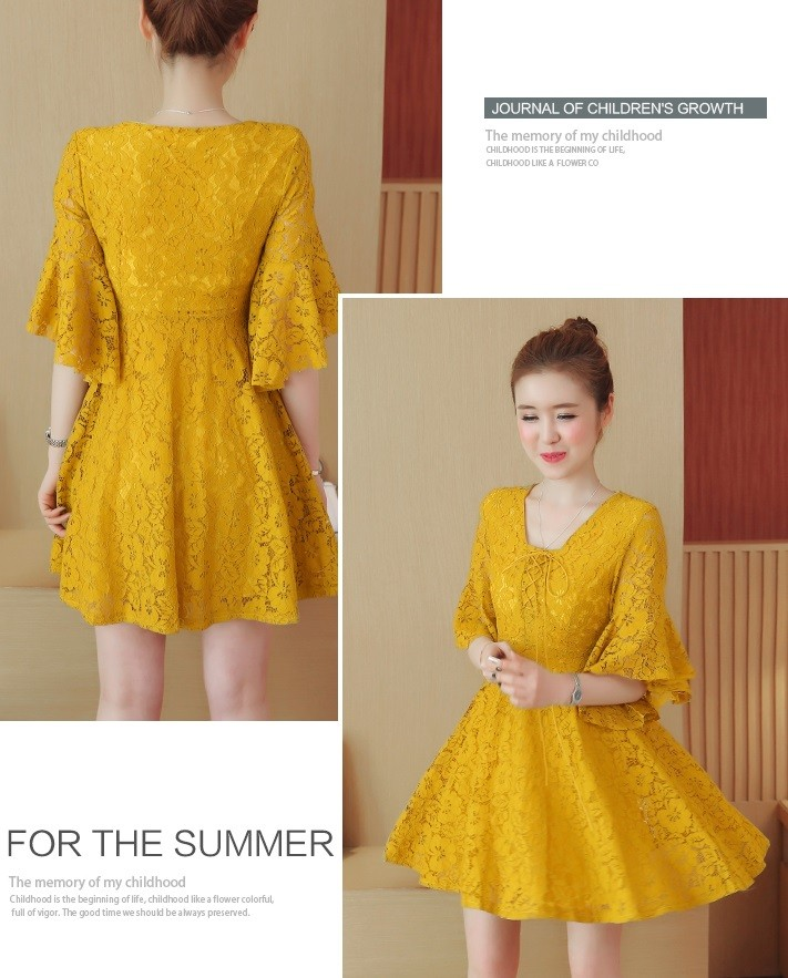 GSS2090 Dress creamy,yellow,black $19.80 60XXXX7742253-NU7LV704-E