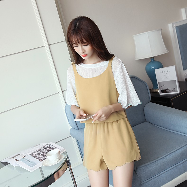 GSS2727 Top+Shorts yellow $15.13 39XXXX7735538-LA5LV510