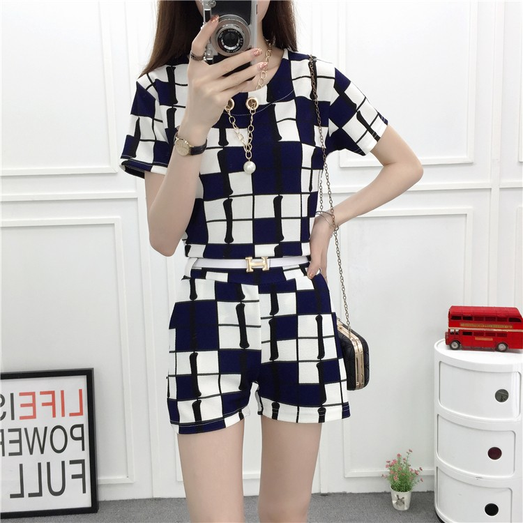 GSS8309X Top+Shorts*