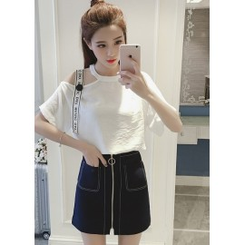 GSS096X Top+Skirt.