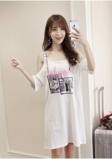 GSS2720 Dress white,pink $13.13 30XXXX7759272-LA5LV510
