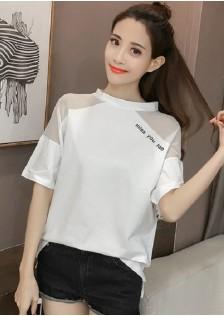 GSS8206 Blouse white,black $11.35 22XXXX7759494-JM2LVB055-A