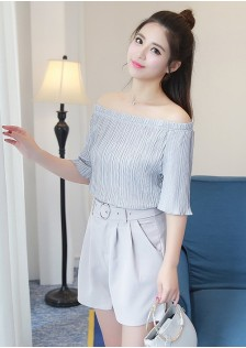 GSS3019X Top+Shorts*