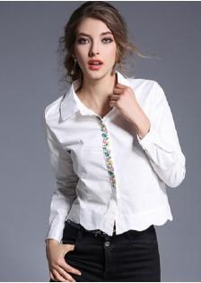 GSS3003 Blouse white $15.80 42XXXX3479309-LA6LV611-A