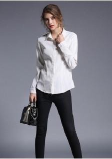 GSS3008 Blouse white,black $15.80 42XXXX3479579-LA6LV611-A