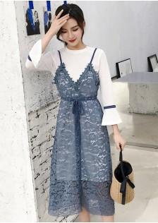 GSS8011 2pcs-Dress pink,blue,black $19.58 59XXXX7979721-SD4LV457-B