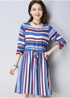 GSS808 Dress red,blue $14.91 38XXXX7750313-JM3LVC068-A