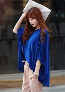 GSS2690 Blouse blue,yellow,apricot $8.69 10XXXX7752248-TH1LVA23