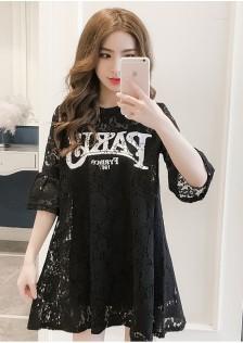 GSS6309 Dress black,white $15.35 40XXXX7747206-LA2LVC15-B