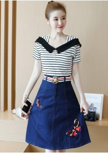 GSS7868X Top+Skirt *