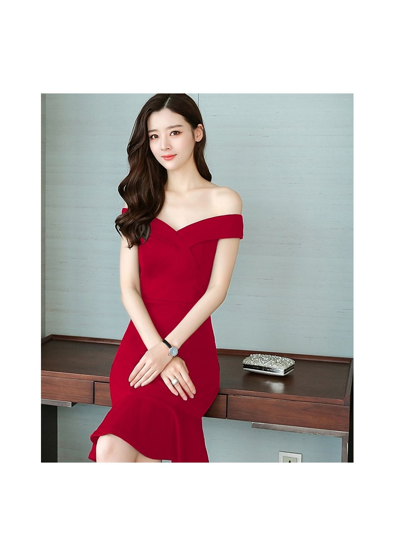 Funky Deep Red Cocktail Dress Ideas - All Wedding Dresses ...