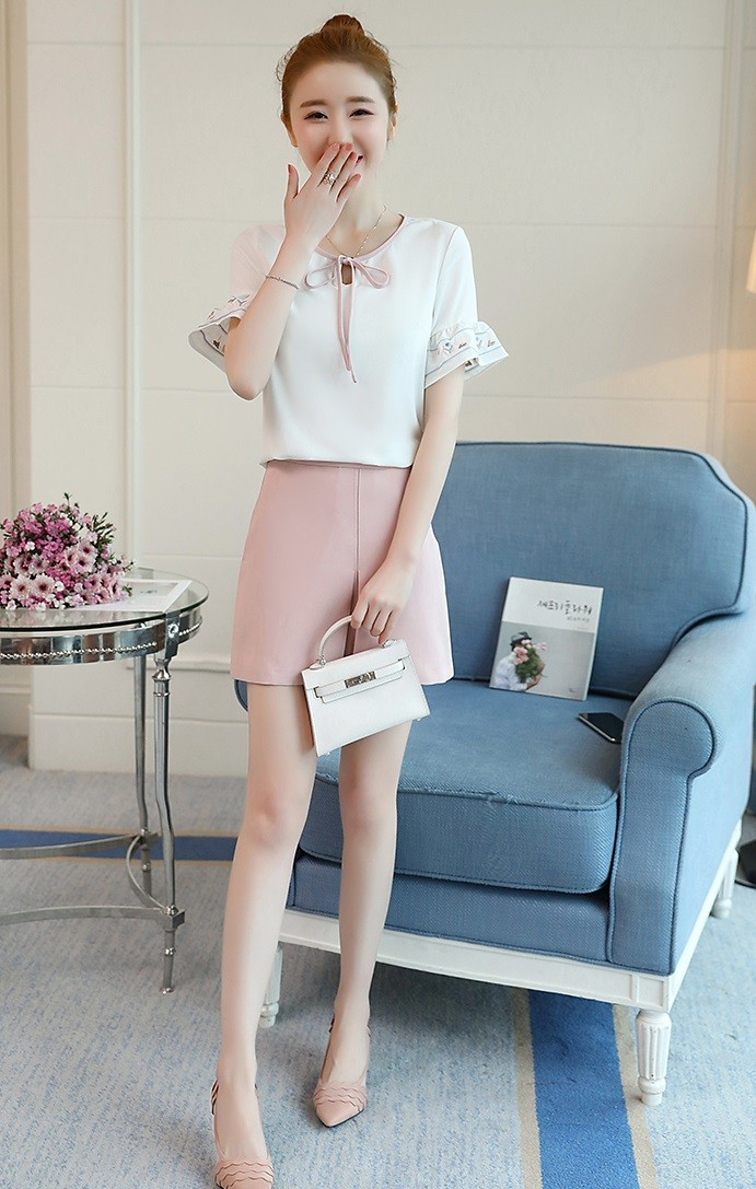 GSS2533X Top+Skirt *