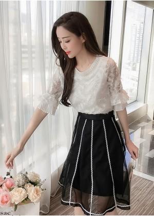 GSS617X Top+Skirt .