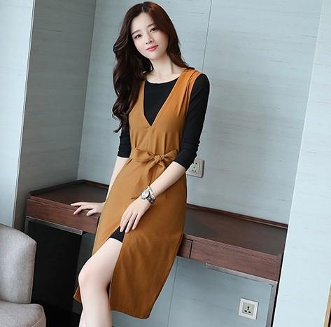 GSS9578 2pcs-Dress black,brown $17.98 50XXXX6249770-BA3LV325