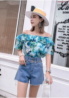 GSS8710X Top+Shorts *