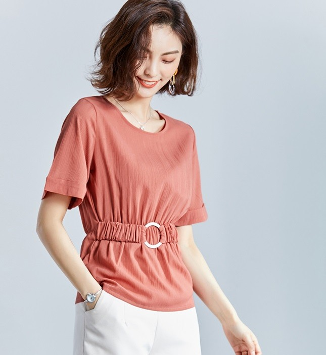 GSS729 Blouse white,red,orange $13.46 28XXXX8173711-NU4LV409-C