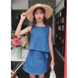 GSS0679X Top+Skirt *