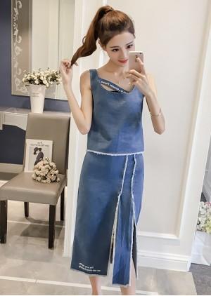 GSS9927X Top+Skirt .