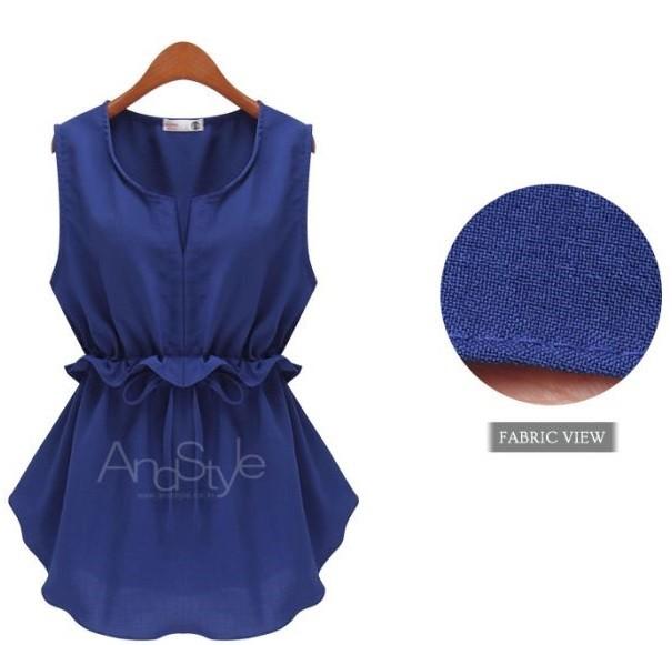GSS601 Big-Blouse white,blue,black $13.67 29XXXX5503491-FL4LVD4055