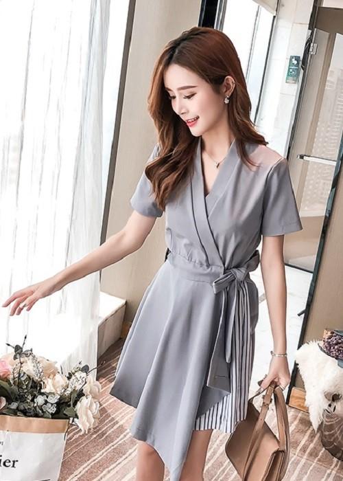 GSS5857 Dress gray,apricot $18.02 49XXXX8163179-LA3LVE311-D