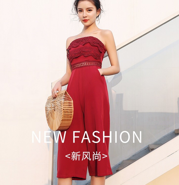 GSS9028 Jumpsuit red,black $17.37 46XXXX8172262-SD2LV237-C