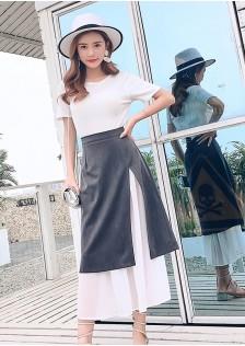 GSS6921 Skirt gray,black $16.07 40XXXX8211082-LA2LVE229-F