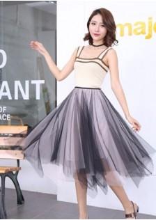 GSS95036 Top+Skirt pink,apricot $15.41 37XXXX8274216-SD3LV322-D