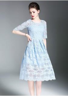 GSS3003 Dress white,blue $21.50 65XXXX4891822-LA6LV601-B