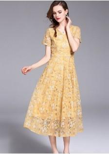 GSS9108 Dress brown,yellow $21.50 65XXXX8470190-LA7LV716-C