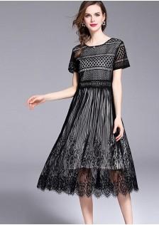 GSS8801 Dress apricot,black $19.33 55XXXX8281717-LA7LV716-C