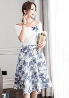 GSS8755 Top+Skirt blue,green,purple $21.50 65XXXX8724780-JM5LVE066