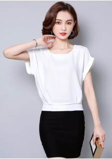 GSS5810 Blouse white,red,black $13.89 30XXXX8310826-LA2LVE290-D