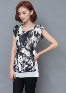 GSS9078 Blouse black $12.80 25XXXX8438242-SD5LV516