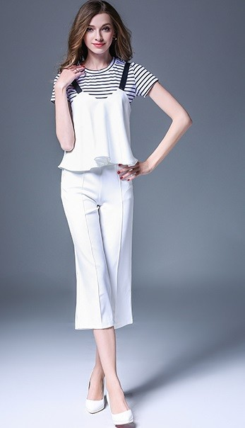 GSS6098X Top+Pants*