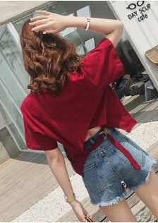 GSS9031X Top white,wine-red,red,pink,black $12.80 25XXXX8798479-NU1LVB110-B