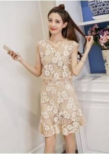 GSS1083X Top+Skirt .***