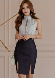 GSS7847X Top+Skirt *