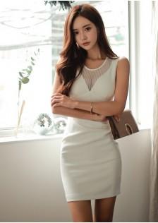 GSS9015X Dress creamy-white,black $28.50 88XXXX2595162-LA4LVE403-A