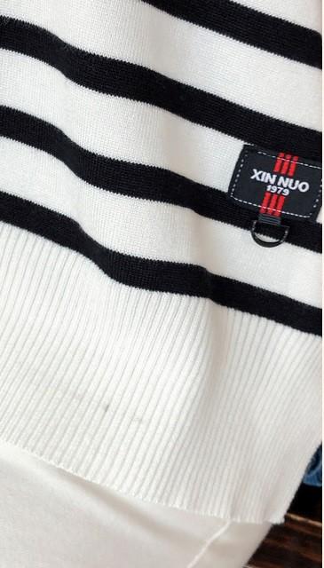 GSS5828X Blouse white-black,black-white $19.37 46XXX10029948-LA2LVE214-F