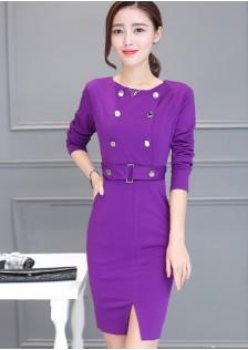 GSS528X Dress purple,black,red-wine $16.76 34XXXX9637114-EX1LVA002-B