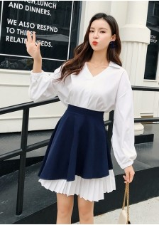 GSS1882X Top+Skirt *