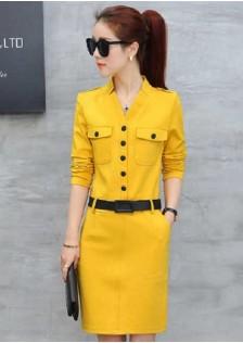 GSS8825AX Dress yellow,black,pink $19.15